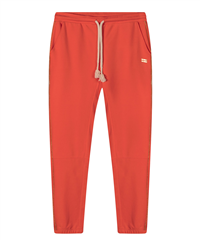 10Days fluor red cropped jogger broek