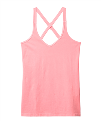 10Days fluor roze wrapper kruisband top
