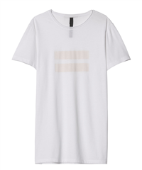 10Days witte two stripes t-shirt