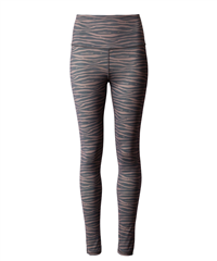 10Days zwart chocolate zebra yoga legging
