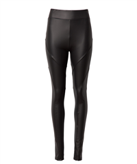 10Days zwarte leatherlook yoga legging