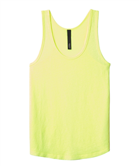 10days fluor yellow linnen tanktop