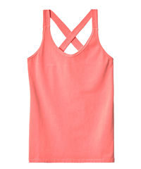 10days kruisband top fluor peach wrapper