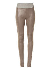 10Days light mauve biker legging sparkle