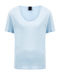 Josephine en co wit linnen basic t-shirt Bia