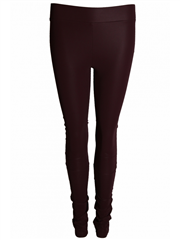 Les Favorites leatherlook legging rose violet
