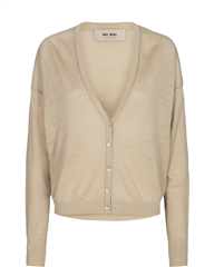 MosMosh safari gebreid vest Lark Linnen