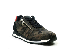 Post Xchange grijze camouflage sneaker Carly