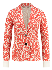 Studio Anneloes off white coral High End blazer