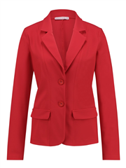 Studio Anneloes rode blazer Bright bonded travel