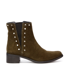Fabienne Chapot V-boot suede army green