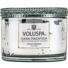 Voluspa geurkaars in glazen pot Casa Pacifica