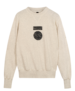 10Days icon sweater soft white melee