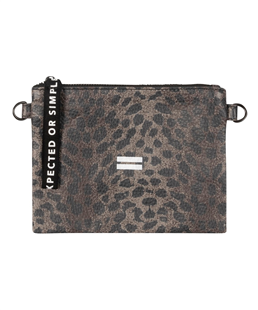 10Days make-up bag leopard camo desert taupe