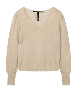 10Days sweater lurex gold