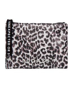 10Days white sand leopard make-up tas