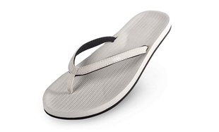 Indosole sea salt witte teenslippers