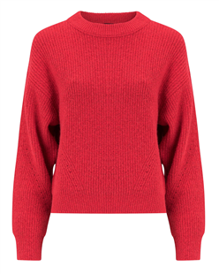 Josephine en Co tomaten rode sweater Gytha