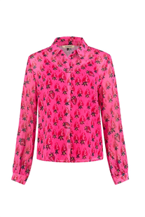 Pom Amsterdam blouse Strawberry pink