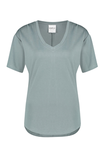 Simple mineral green Lisa top