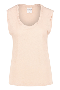 Simple soft pink top Cennet