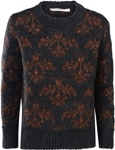 Summum antracietgrijze sparkling sweater