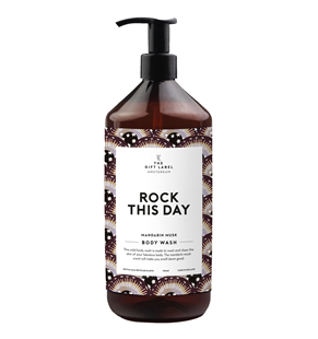 The Gift Label Body wash Rock this Day mandarin musk