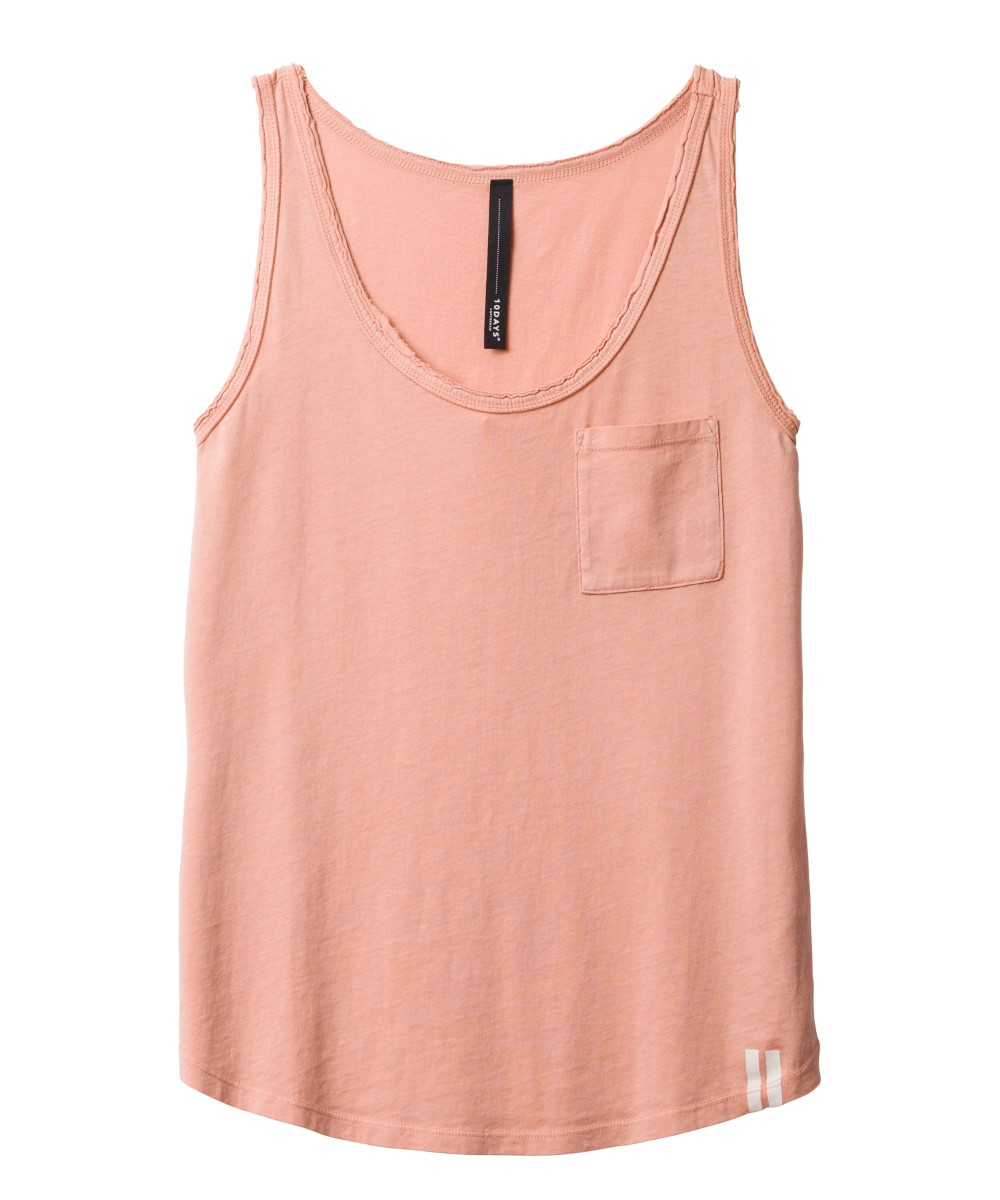 10Days blush roze sleeveless top