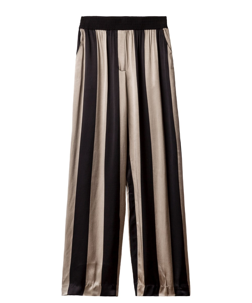 10Days flared broek big stripe toppo