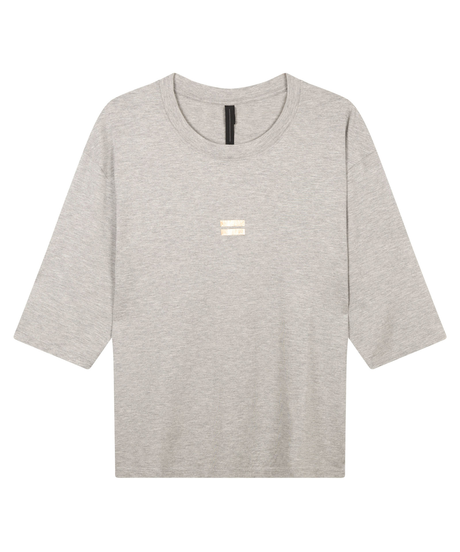 10Days light grey melee t-shirts