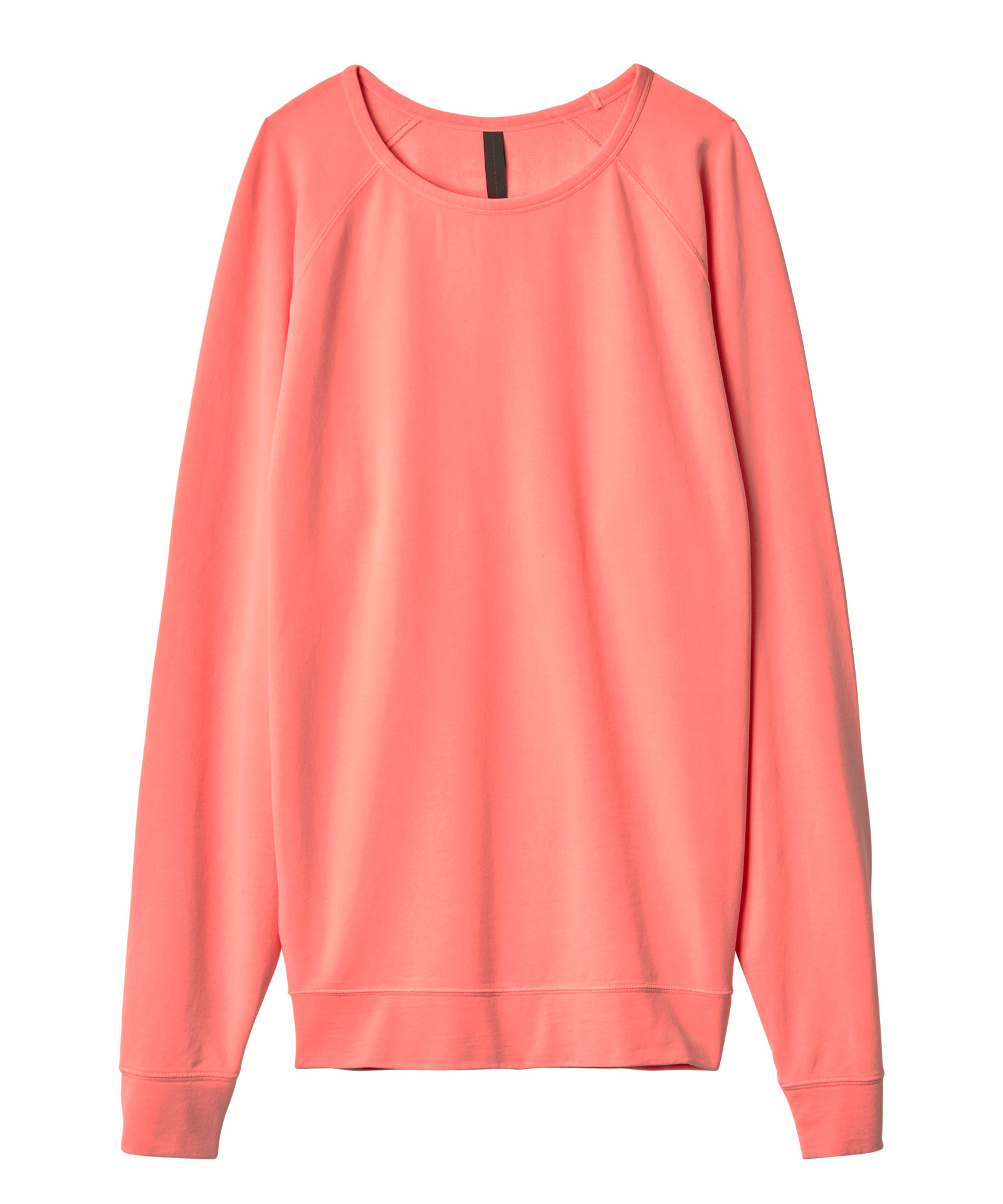 10days fluor peach the crew neck sweater