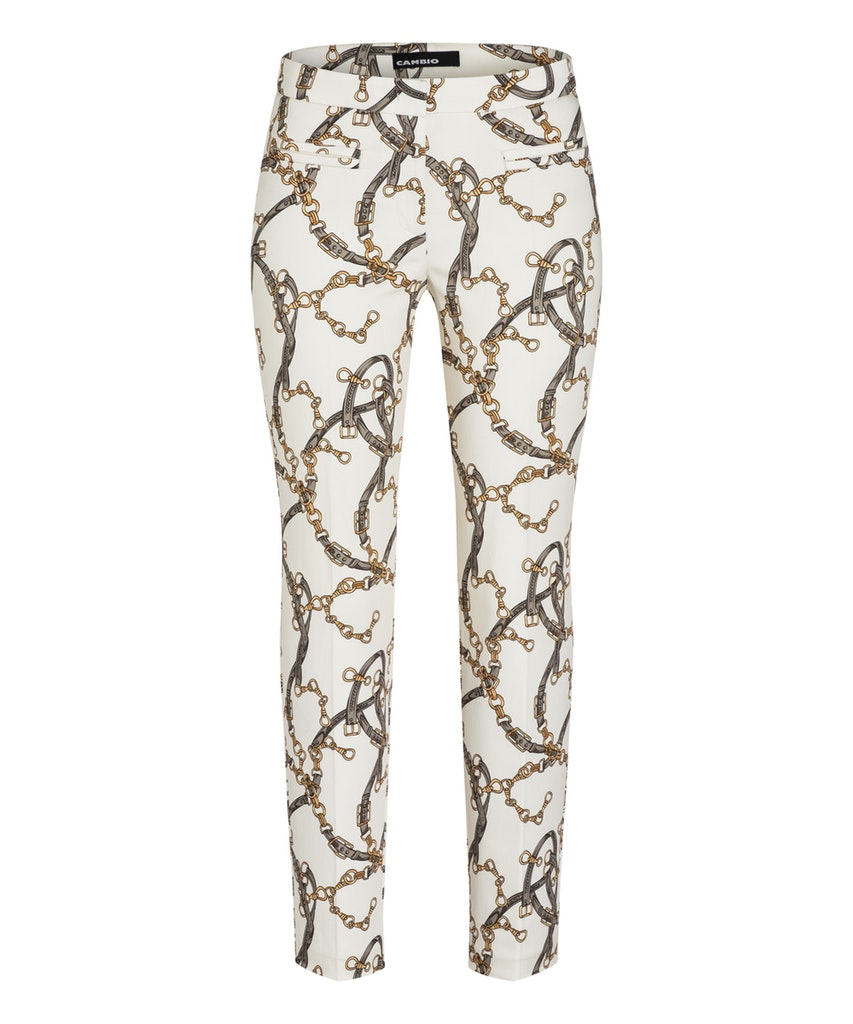 Cambio bohemian belt print Rafferty broek