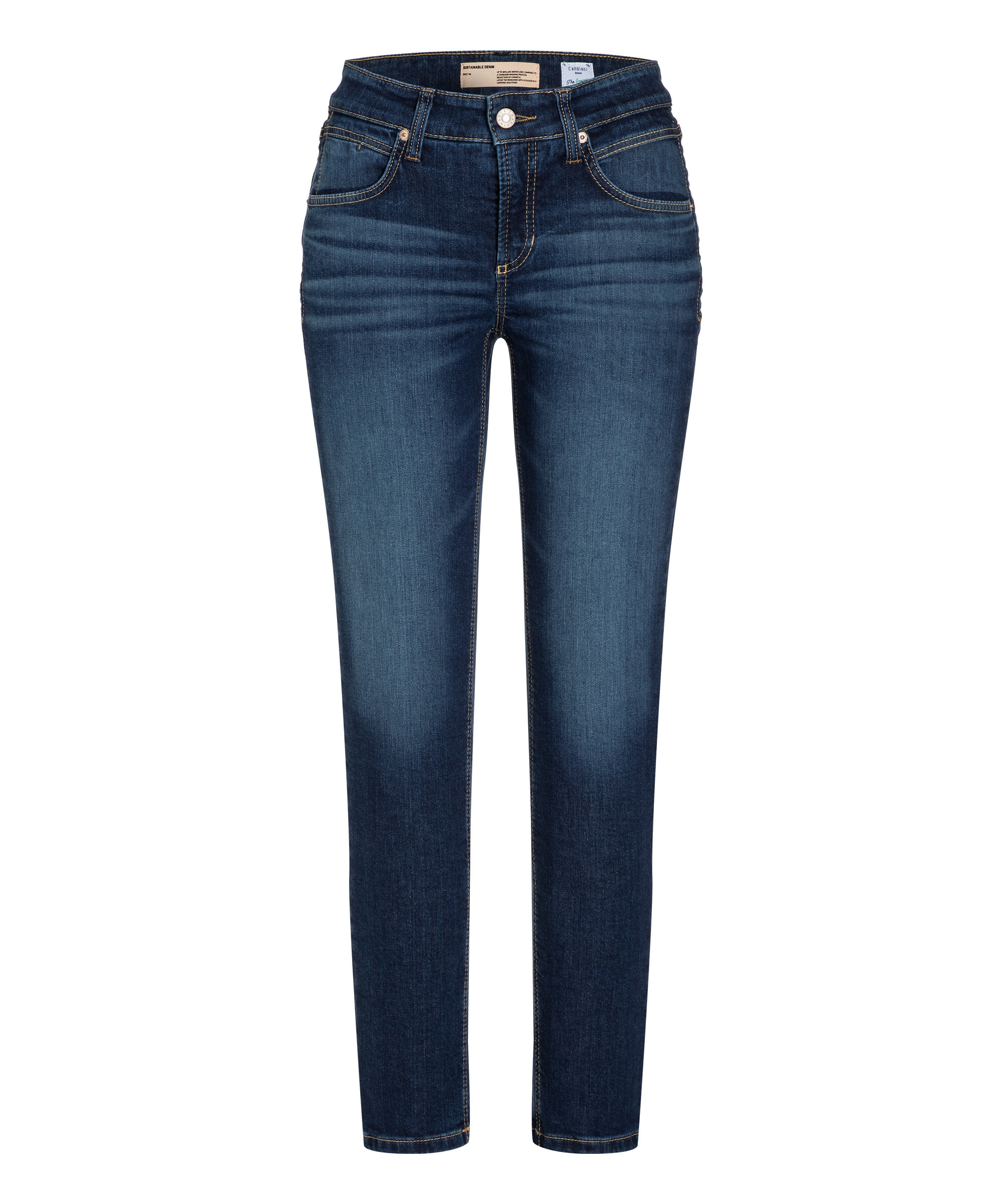 Cambio broek Pina sustainable comfort stretch blue denim