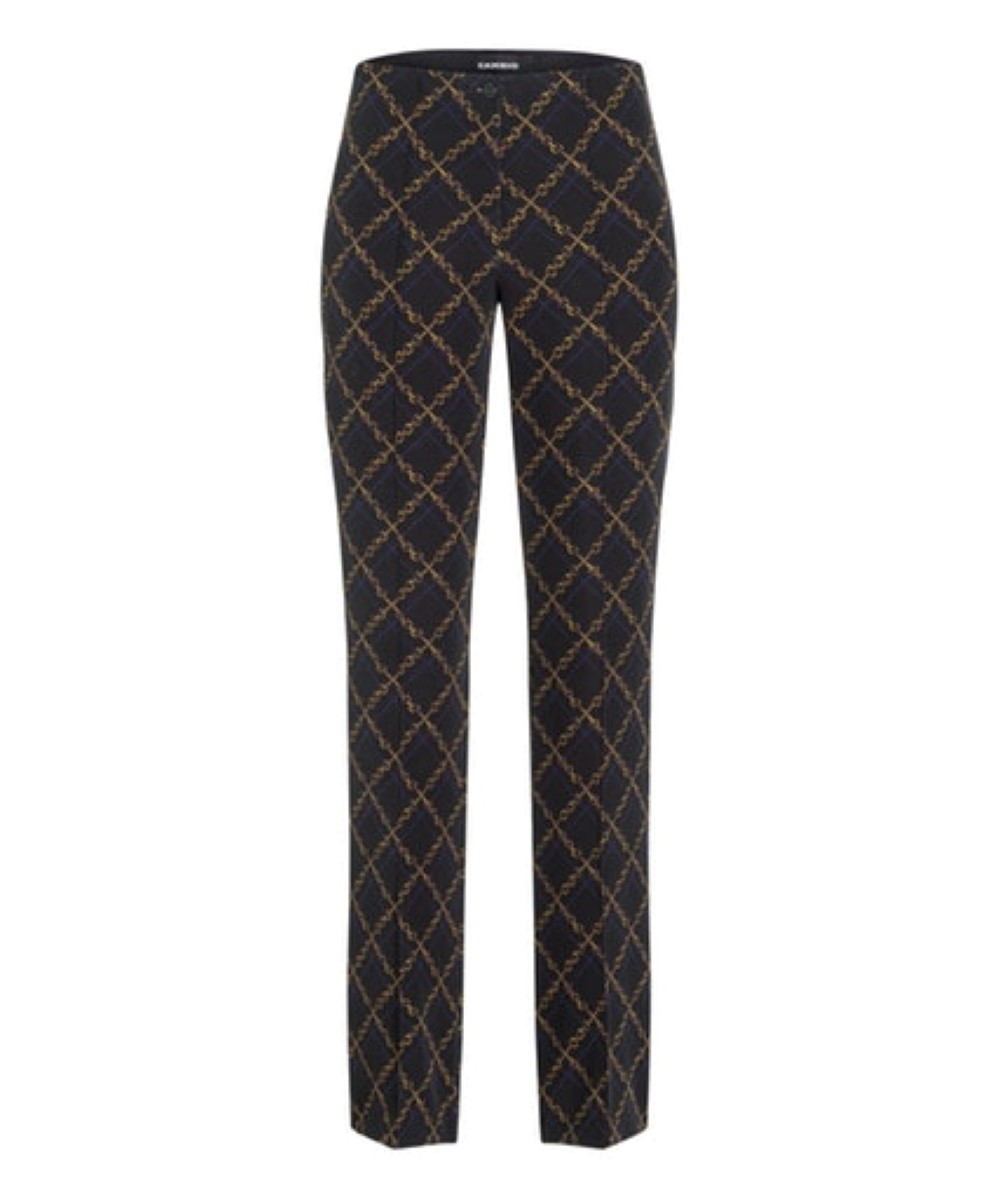 Cambio broek Ros chain rope print on techno stretch
