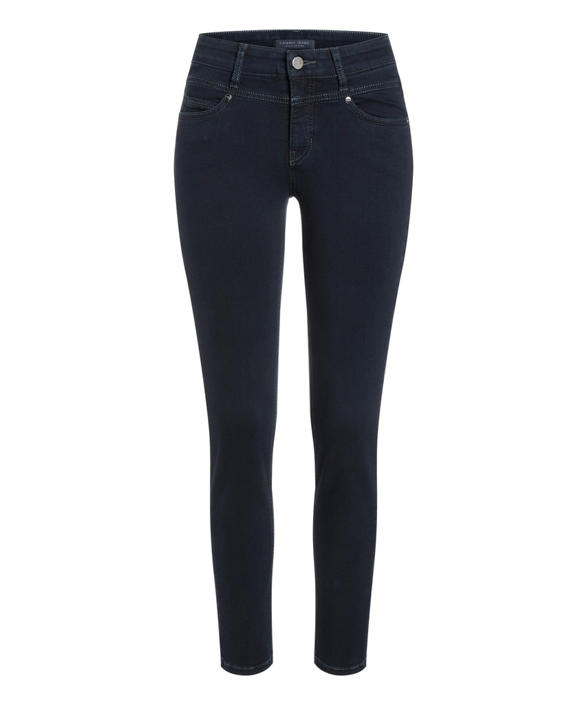 Cambio cosy black overdye broek Posh super stretch