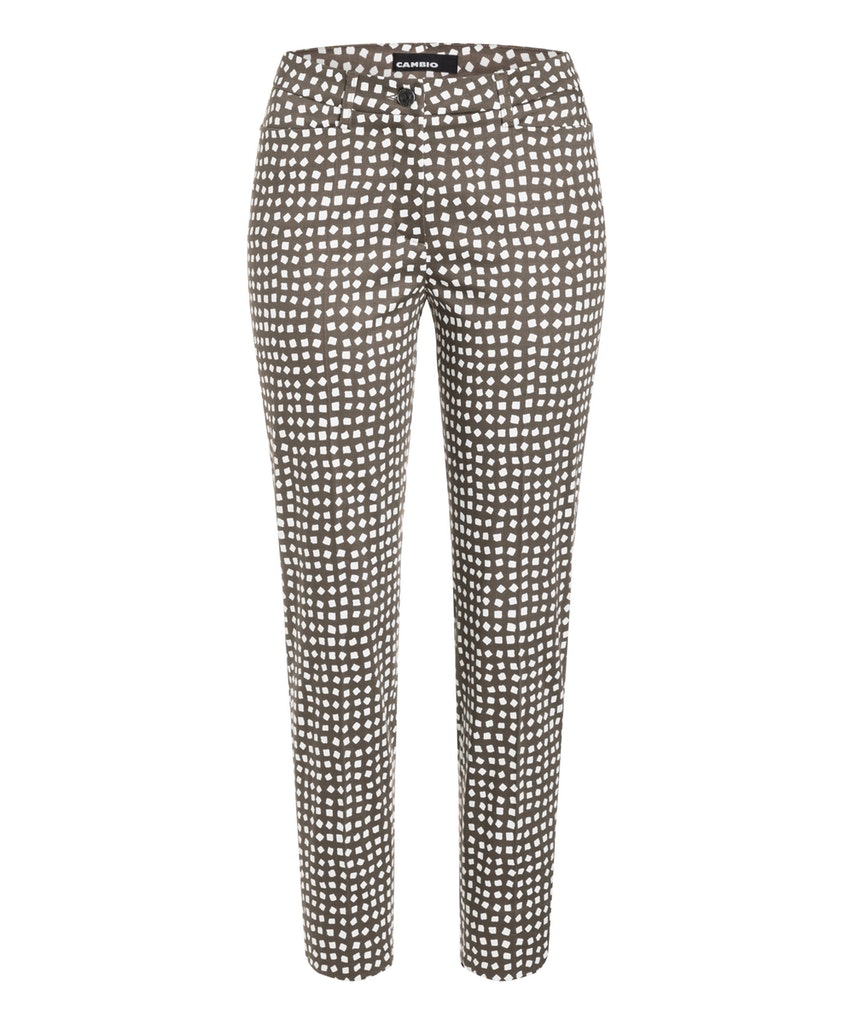 Cambio tropical grey shades cube broek River