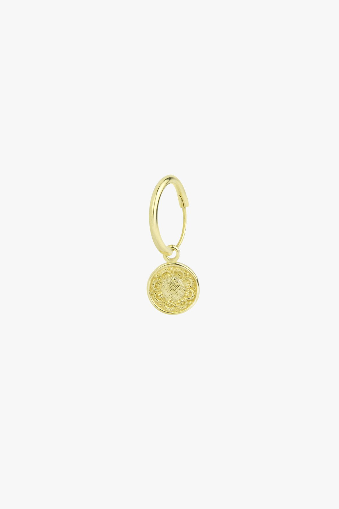 Wildthings Coin earring gold (per stuk)