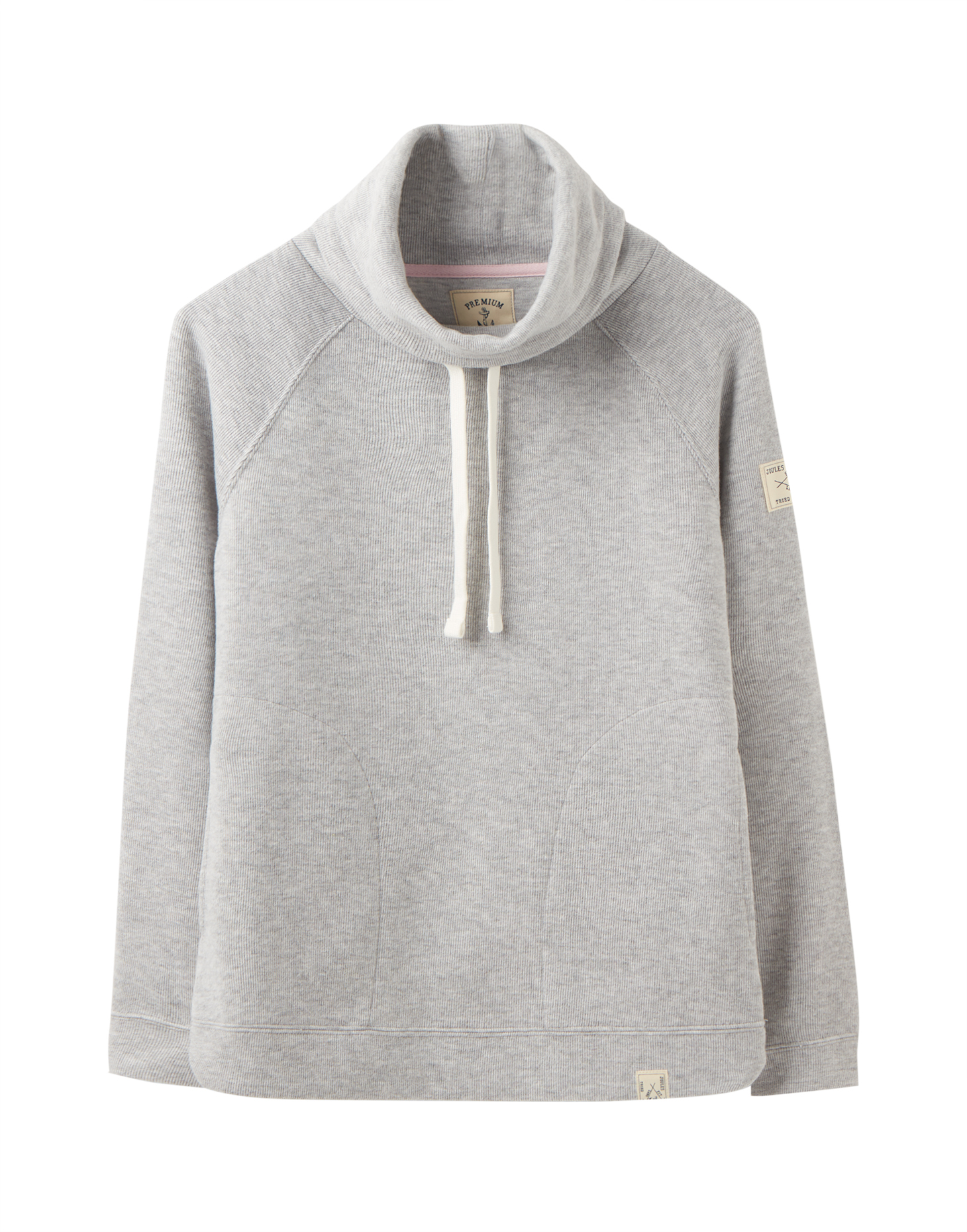 Joules Nadia sportieve coltrui grey melee