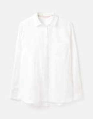 Joules witte linnen Lorena blouse