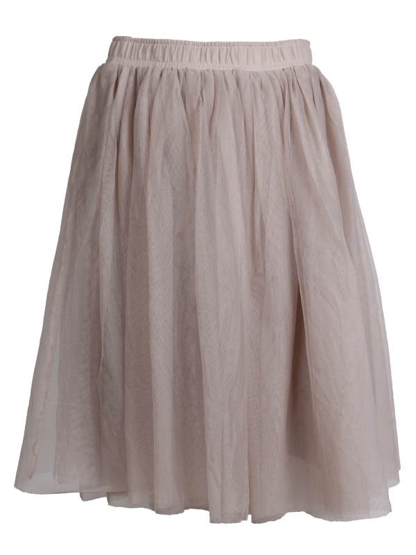Les Favorites beige grey tule rok Lily