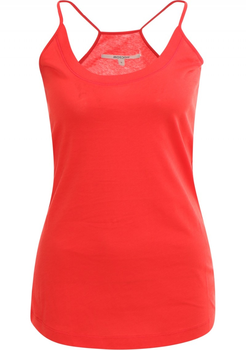 Moscow basic tank top hibiscus
