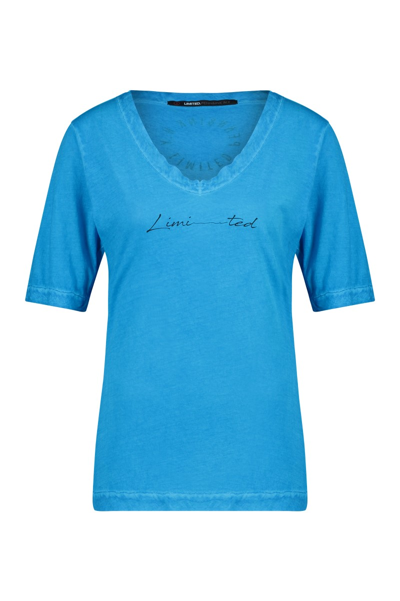 Pennandink turquoise t-shirt print