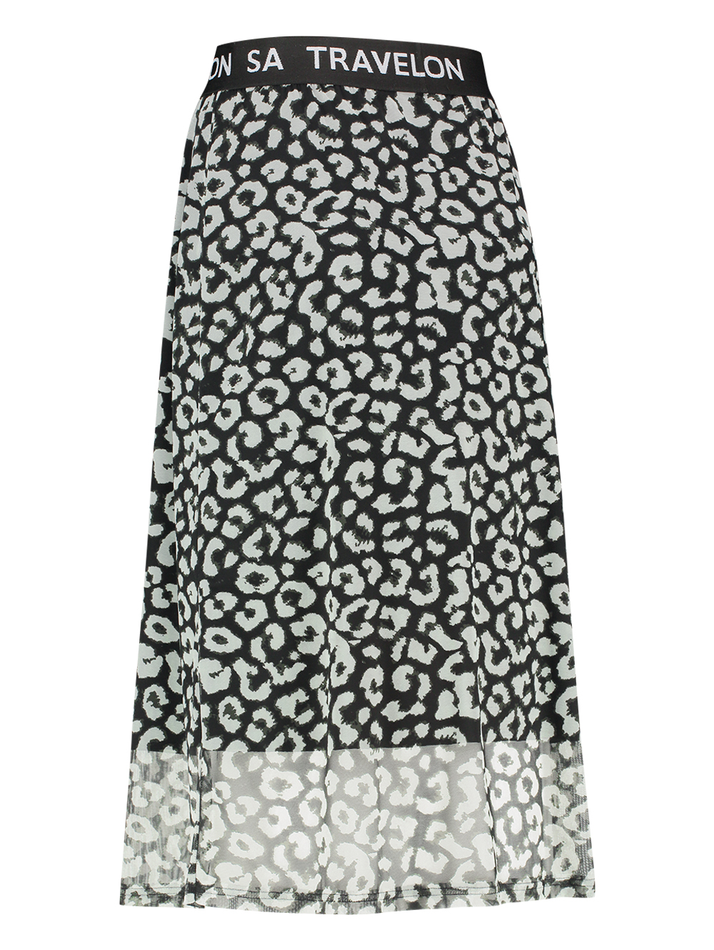 Studio Anneloes off white black big leopard rok Louise