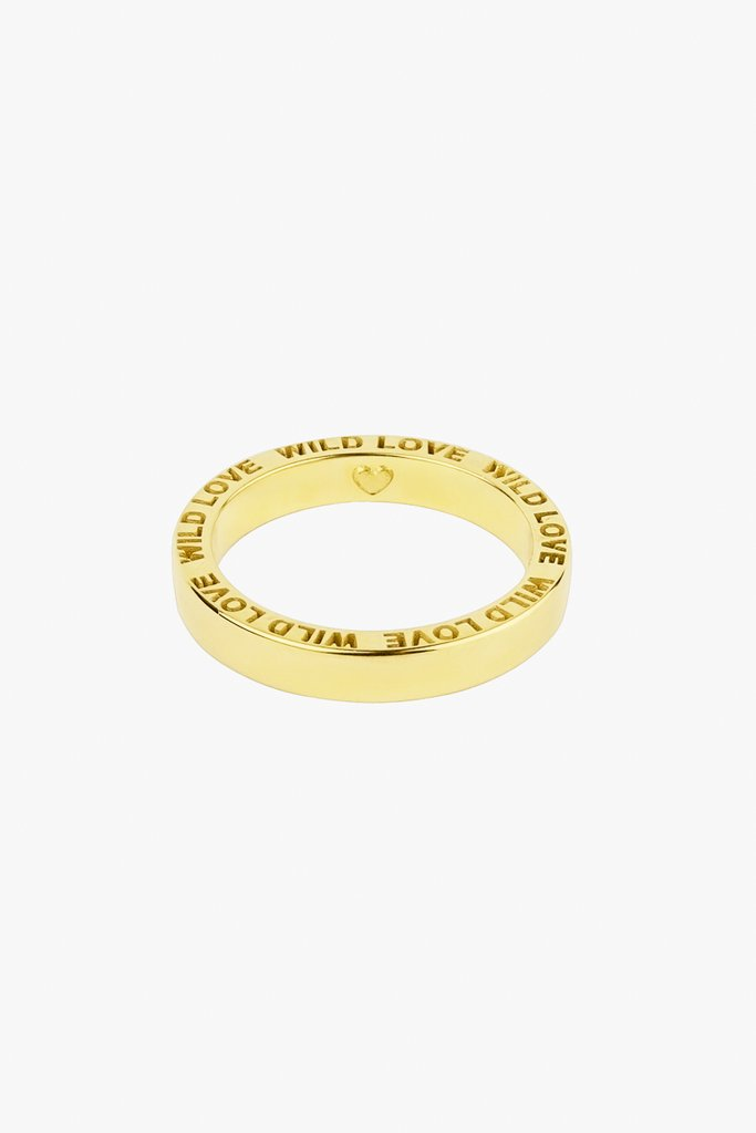 Wildthings Wild love ring gold maat M