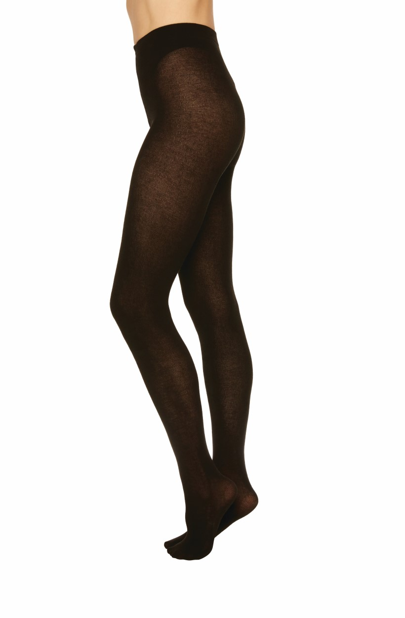 Swedish Stockings zwarte Alice cashmere panty